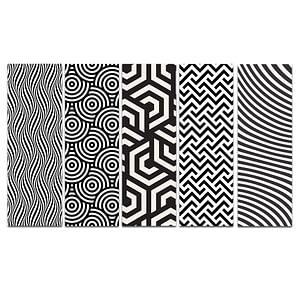 Black 'n' White Bookmark Bundle