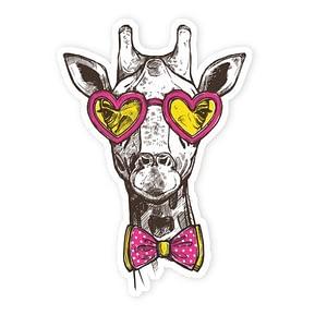 Hip Giraffe | Vinyl Stickers