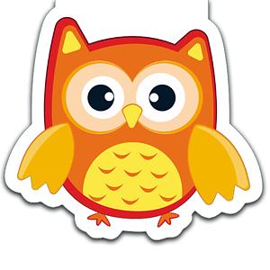 Owls | Die-Cut Bookmark Bundle