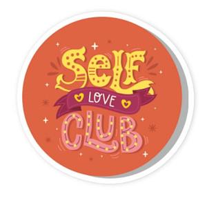 Self Love Club Vinyl Stickers