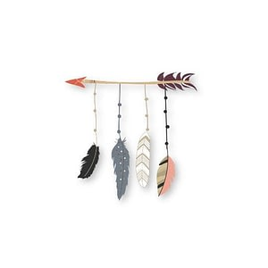 Arrow & Feathers Sticker | Vinyl Stickers