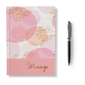 Musings Softcover Notebook - Ruled