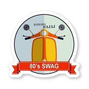 80's Swag Sticker | Vinyl Stickers