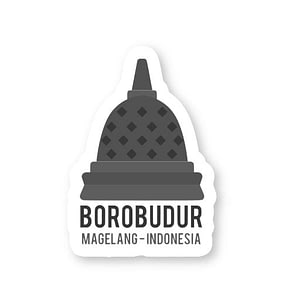 Borobudur Sticker   Vinyl Stickers