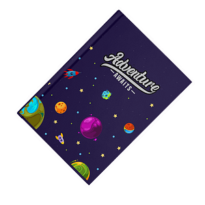 Adventure Awaits Softcover Notebook - Ruled