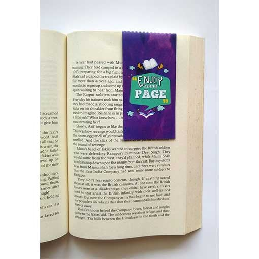 Enjoy Every Page | Magnetic Bookmark