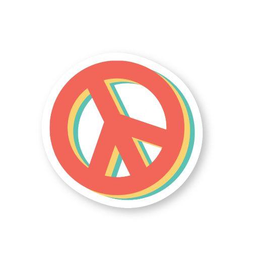 Peace Sticker | Vinyl Stickers
