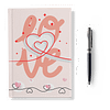 Love Softcover Notebook - Ruled