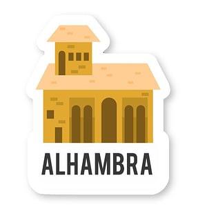 Alhambra Sticker | Vinyl Stickers