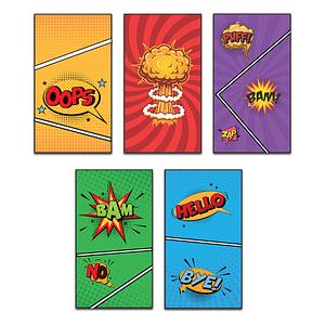 Comic Strip Bookmark Bundle