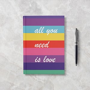 All You Need Softcover Notebook - Ruled