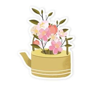 Flower Love Sticker   Vinyl Stickers