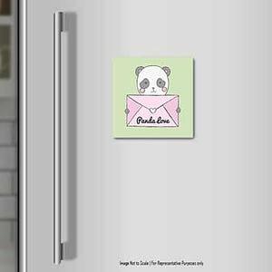 Panda Love Fridge Magnet