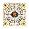 Multicoloured Mandala | Set of 2/4/6 | Coasters