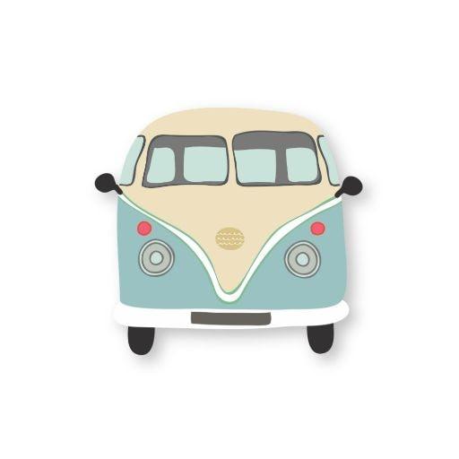 Retro Van Sticker | Vinyl Stickers
