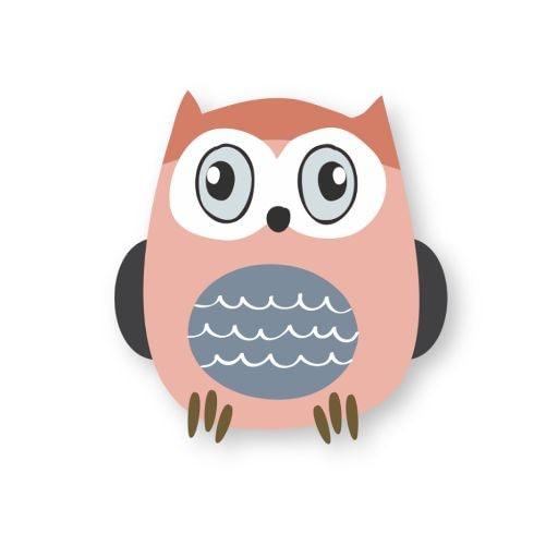 Owl Sticker   Vinyl Stickers