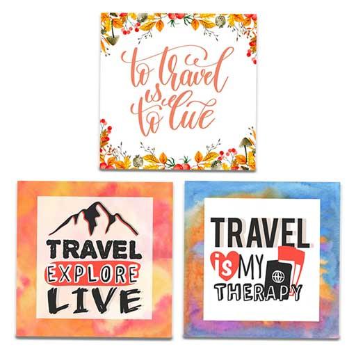 Travelers   Fridge Magnet Bundle