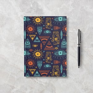 Tribal Softcover Notebook - Ruled