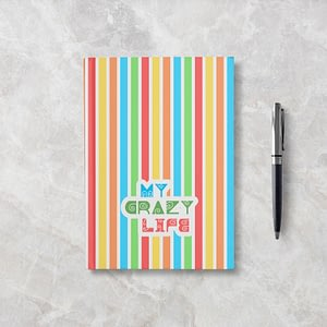 My Crazy Life Softcover Notebook - Blank