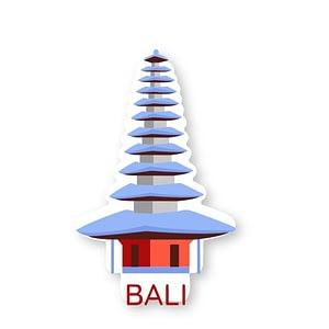 Bali Sticker | Vinyl Stickers