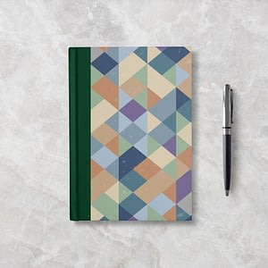 Old School Softcover Notebook - Blank