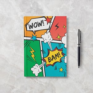 WOW BAM Softcover Notebook - Blank