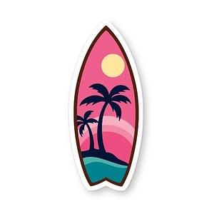 Surfboard Sticker | Vinyl Stickers