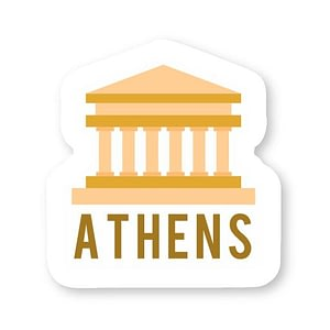 Athens Sticker | Vinyl Stickers