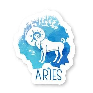 Aries Zodiac Sticker | Vinyl Stickers
