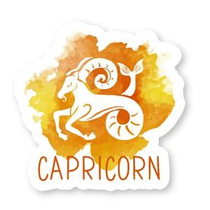 Capricorn Zodiac Sticker   Vinyl Stickers