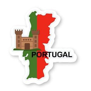 Portugal Sticker | Vinyl Stickers